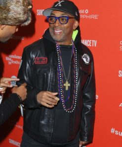 Monster Spike Lee Leather Jacket