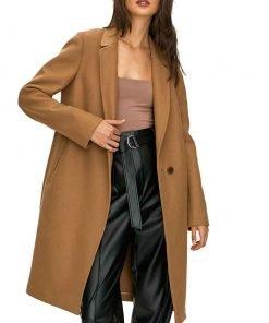 Kennedy McMann TV Series Nancy Drew Season 02 Tan Trench Coat