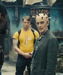 TV Series The Suicide Squad Peter Capaldi Thinker Blazer Jacket