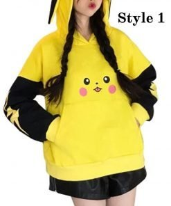 Pokémon Detective Pikachu Yellow Hoodie
