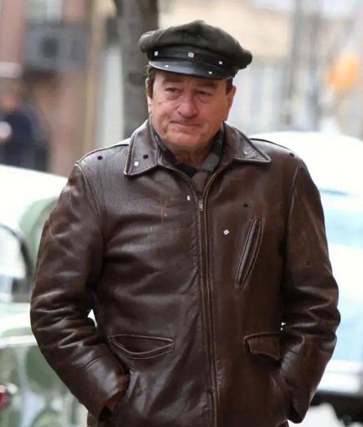 Frank Sheeran The Irishman Leather Jacket