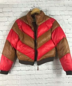 Spinning Out Serena Baker Puffer Jacket