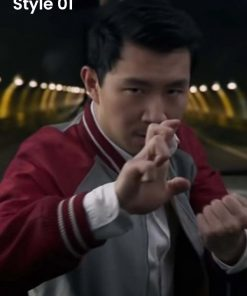 Shang-Chi and the Legend of the Ten Rings Red Bomber Jacket