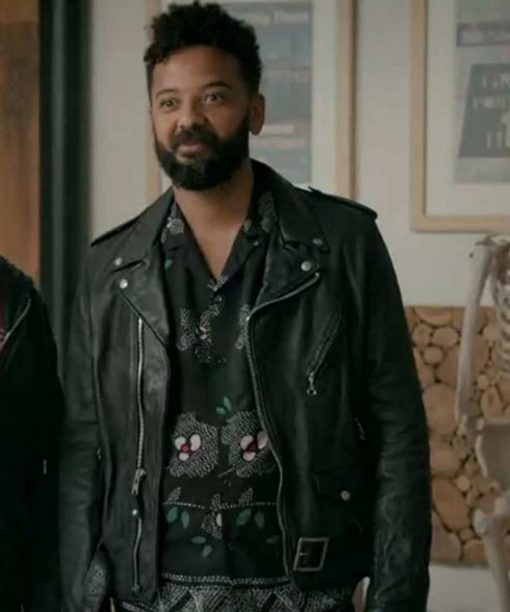 Amadi Shrill Black Jacket