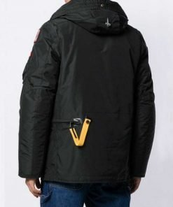Evan Roderick Spinning Out Justin Davis Black Hooded Jacket