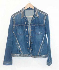 Spinning Out Jenn Yu Denim Jacket