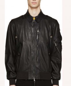 Spinning Out Justin Davis Leather Jacket