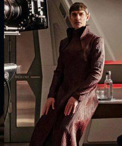 Sarek Star Trek Discovery James Frain Maroon Gown Style Coat