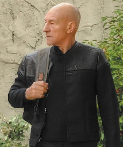 Star Trek Picard Black Jacket