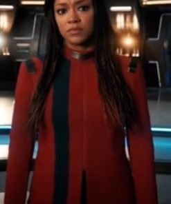 Star Trek Discovery Season 4 Sonequa Martin Red Jacket