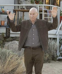 Start Trek Picard Jean-Luc Picard Jacket
