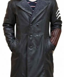 Captain Boomerang Suicide Squad Leather Coat