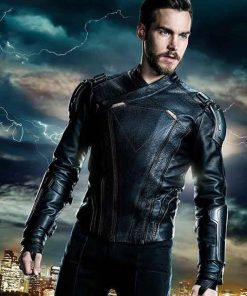 Supergirl Mon-El Leather Jacket
