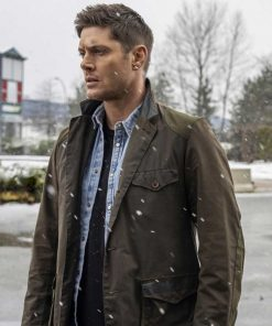 Jensen Ackles Supernatural S15 Dean Winchester Seaweed Cotton Jacket
