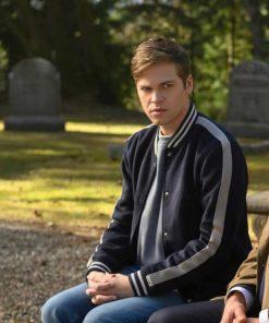 Supernatural S15 Alexander Calvert Varsity Jacket