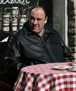 The Sopranos James Gandolfini Leather Jacket
