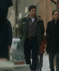 John Magaro The Umbrella Academy TV Series Leonard Peabody Cotton Jacket