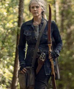 The Walking Dead Season 10 Carol Peletier Denim Jacket
