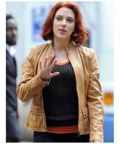Natasha Romanoff The Avengers Scarlett Johansson Jacket