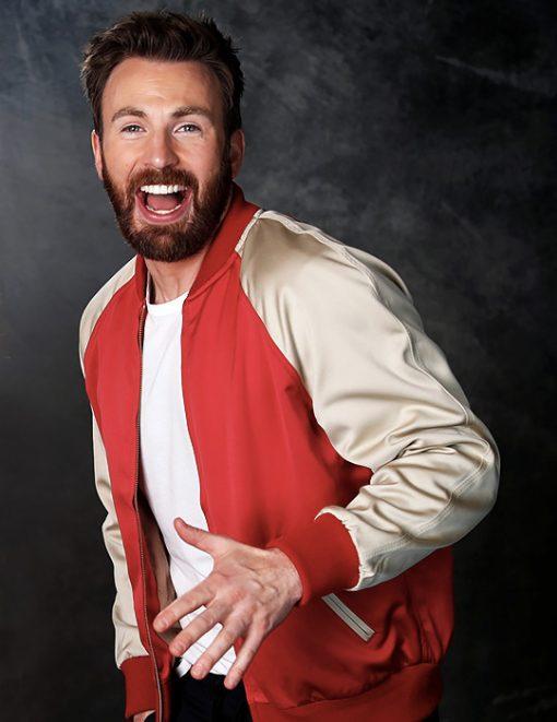 Avengers Endgame Premiere Chris Evans Jacket