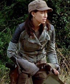 Christian Serratos The Walking Dead Rosita Espinosa Leather Jacket