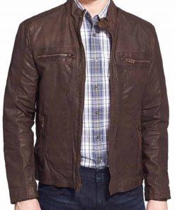 Steve Rogers Civil War Brown Jacket