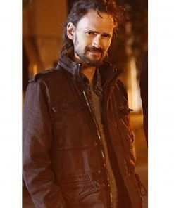 Jeremy Davies Lucifer Nick Hofmeister Black Leather Jacket
