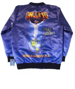 Snoopy's Bomber Snoop Doggs Printed Jacket