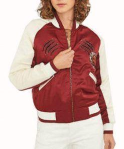 13 Reason why Jessica Davis Bomber Jacket