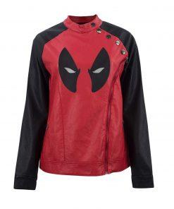 Deadpool Eye Logo Jacket