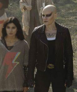 Stephanie Czajkowski Doom Patrol S02 Black Leather Hammerhead Jacket