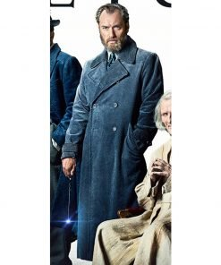 Albus Dumbledore Fantastic Beasts The Crimes of Grindelwald Trench Coat