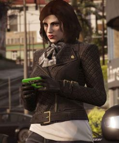 GTA 6 Female Protagonist Leather Jacket
