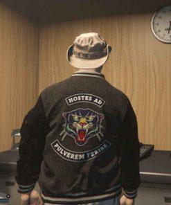 Panther Varsity GTA 6 Vice City Bomber Jacket
