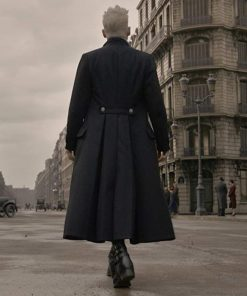 Johnny Depp Fantastic Beasts The Crimes Of Grindelwald Gellert Grindelwald Black Wool Coat