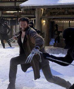 The Wolverine Logan Shearling Coat