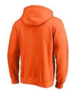 NBA WNBA Logo Orange Unisex Fleece Hoodie