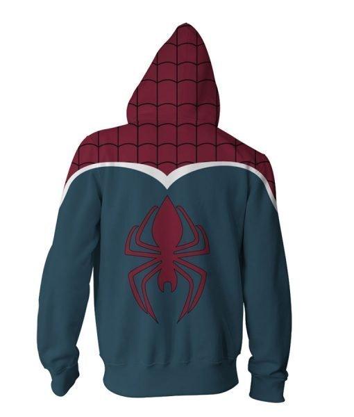 Spider-Man Britain Zip-Up Pullover Hoodie