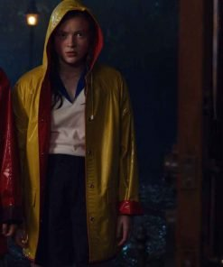 Stranger Things S04 Max Mayfield Yellow Rain Coat
