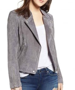 Supergirl S06 Nia Nal Suede Leather Jacket
