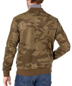 The Falcon and The Winter Soldier Anthony Mackie Camo Print Bomber Jacket