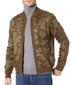 The Falcon and The Winter Soldier Sam Wilson Camo Bomber Jacket