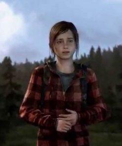 The Last Of Us Part II Ellie Red Hoodie