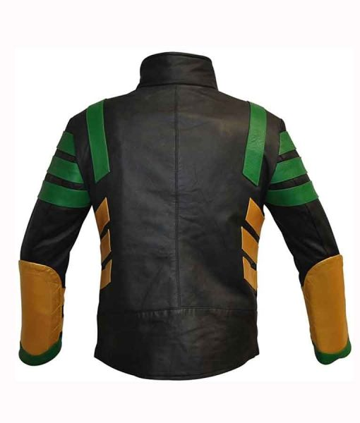Thor Ragnarok Loki 2021 Tom Hiddleston Leather Jacket