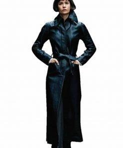 Fantastic Beasts 2 Tina Goldstein Leather Coat