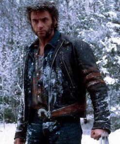 Hugh Jackman X-Men 2 United Wolverine Leather Jacket