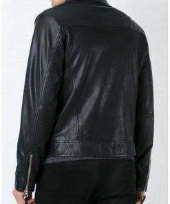 Jesse Eisenberg Batman V Superman Lex Luthor Black Leather Jacket