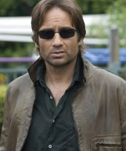 David Duchovny Californication Leather Jacket