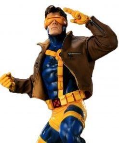 X-men Cyclops Jim Lee Brown Leather Jacket