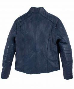 Superman Man of Steel Biker Leather Jacket